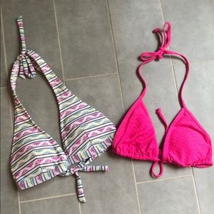 Other - Two Old Nacvy Swim Tops - M - Never Worn